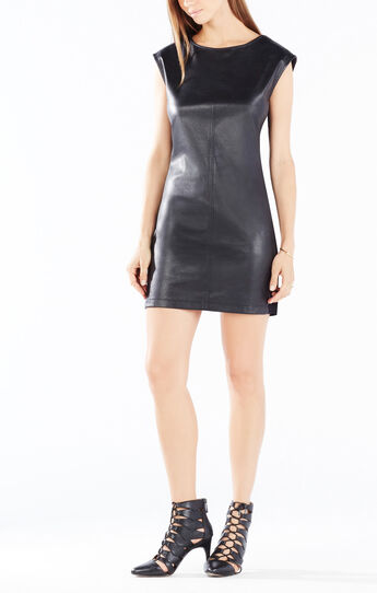 Karlee Zippered Shoulders Dress