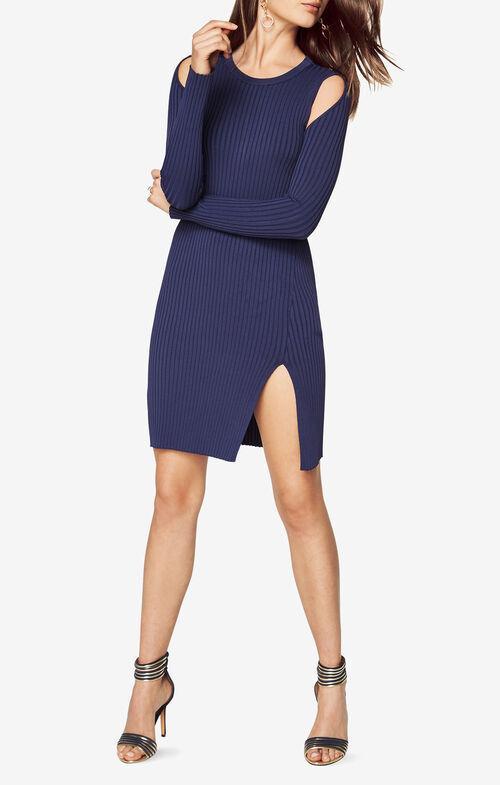 Braiden Cold-Shoulder Sweater