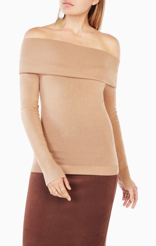 Astria Off-The-Shoulder Sweater