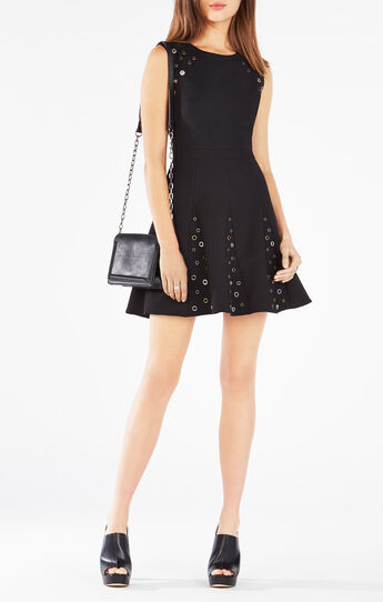 Ericka Grommet Embellished Dress