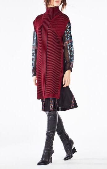 Elliana Turtleneck High-Low Sweater