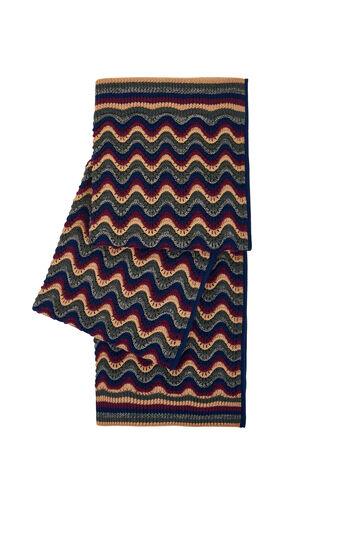 Striped Stitch Scarf