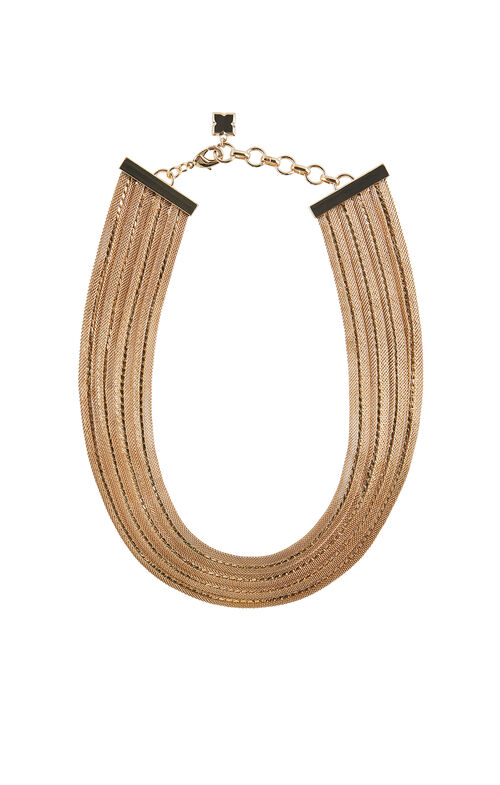 Tiered Multi-Chain Collar Necklace