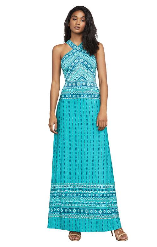 Lienna Print Maxi Dress