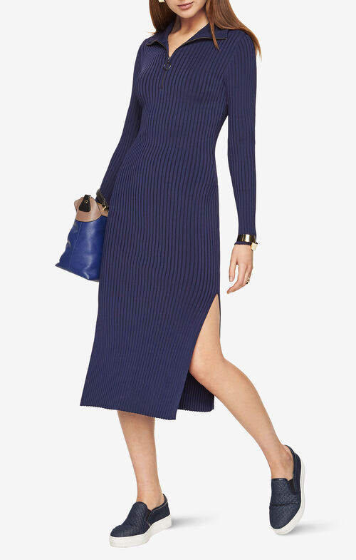 Sonja Ribbed Sweater Dress