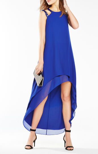 Briele High-Low Cutout Dress