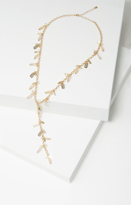 Shaker Lariat Necklace