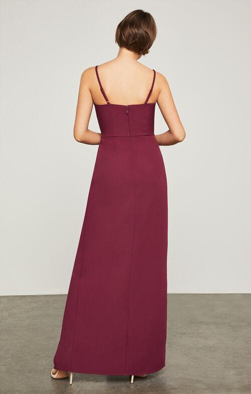 Steluh Peplum Gown