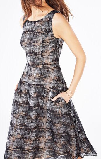 Brigetta Embroidered Midi Dress