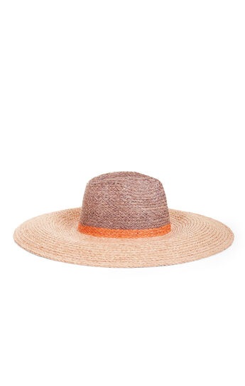 Blocked Floppy Hat