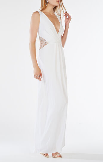Hasani Embroidered Gown