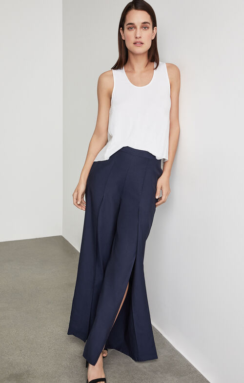 Michael Slit Wide-Leg Pant