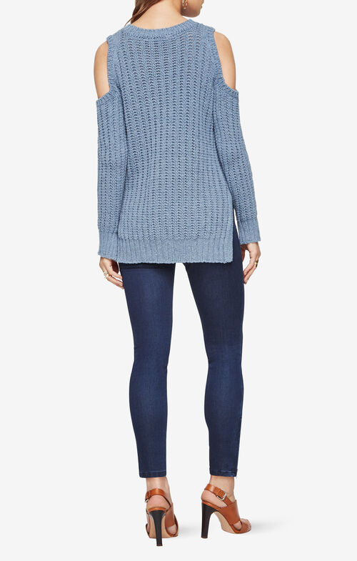 Tressa Cold-Shoulder Sweater