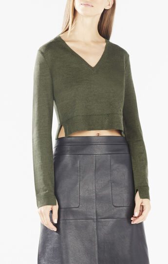 Viktorie Wool Crop Top