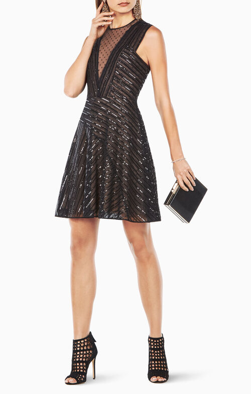 Aniya Sequined Dress