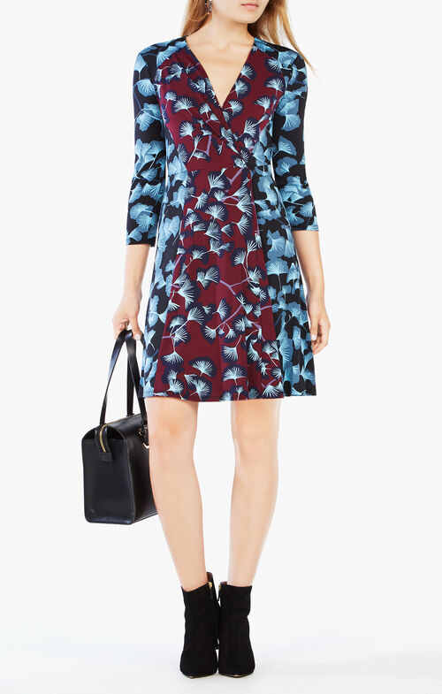 Jordana Floral-Print Dress