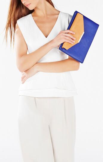Ashtyn Color-Blocked Envelope Clutch