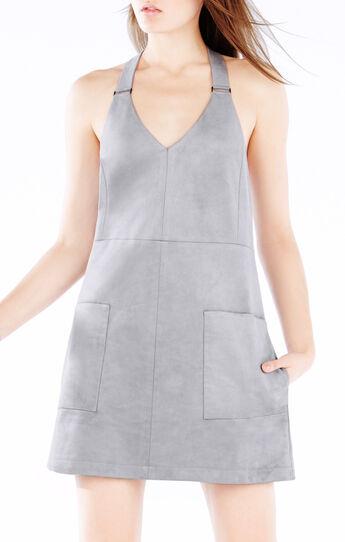 Abbott Faux-Suede Dress