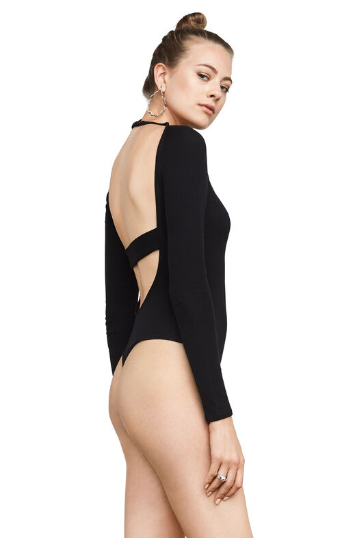 Anise Open-Back Bodysuit