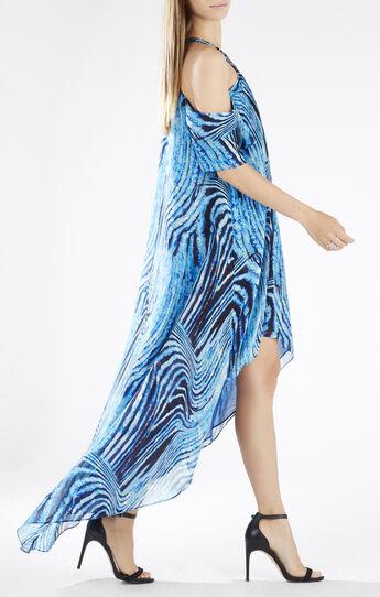 Jessyca Embellished Halter Cutout Shoulder Gown