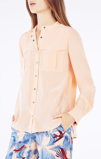 Eleanorre Button-Down Top