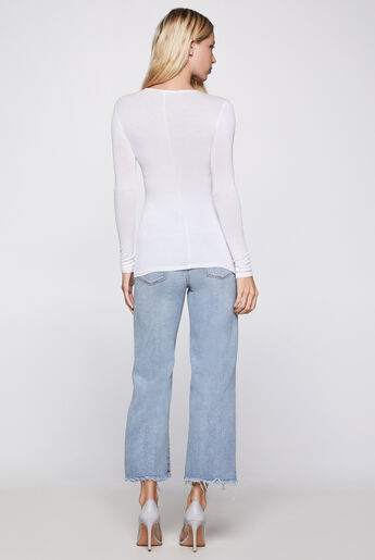 Long-Sleeve Layering Top