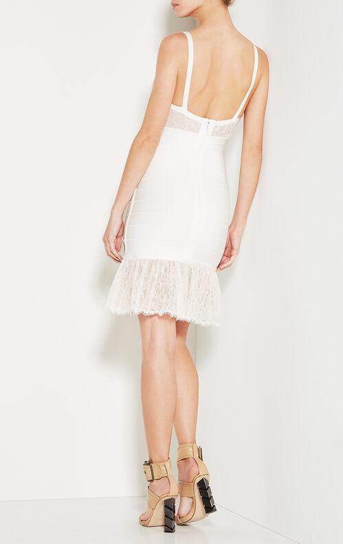 Addison Vintage Lace Bandage Dress