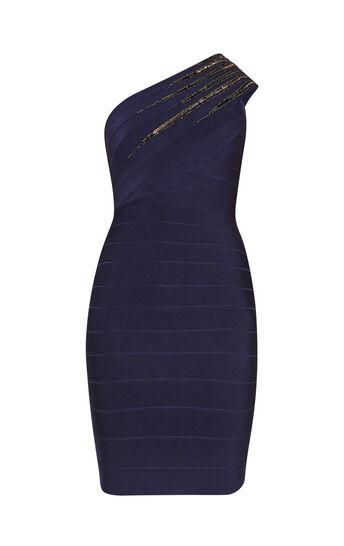 Brianne Starburst Sequined Dress