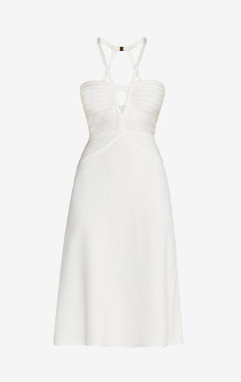 Kennedy Bandage Crepe Midi Dress