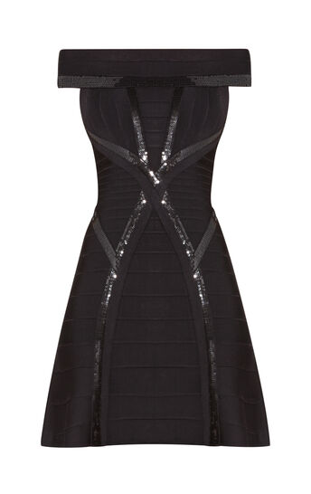 Mikaela Sequined Dress