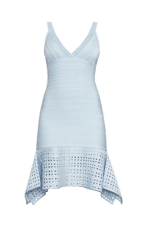 Saige Cutout Bandage Dress