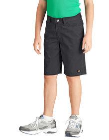 Boys' Slim Fit 5-Pocket Twill Short, 8-20 - BLACK (BK)
