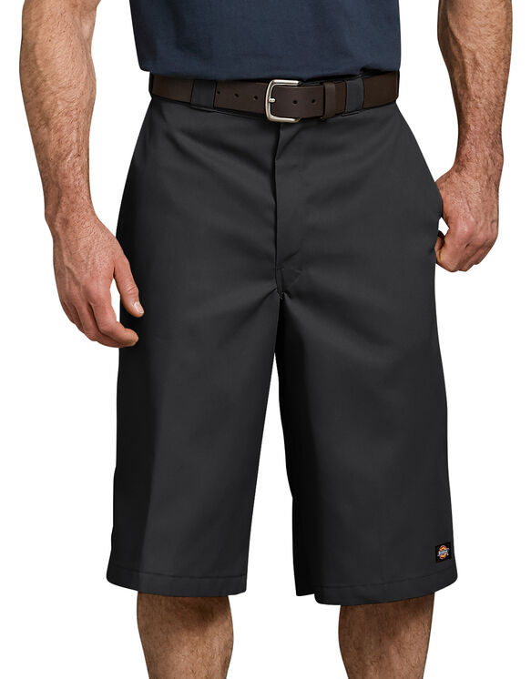 "15"" Loose Fit Multi-Use Pocket Work Short - BLACK (BK)"