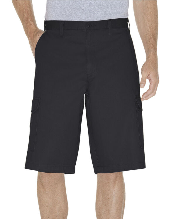 "13"" Loose Fit Cargo Short - RINSED BLACK (RBK)"