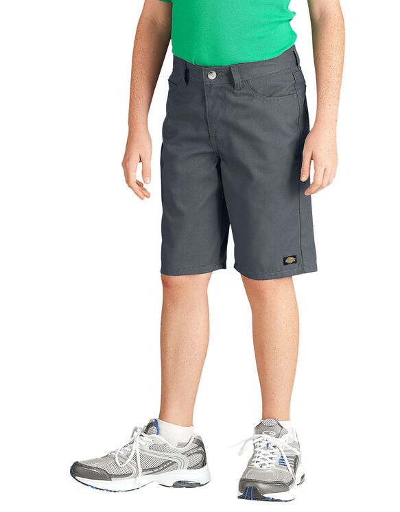 Boys' Slim Fit 5-Pocket Twill Short, 8-20 - CHARCOAL (CH)