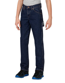 Boys' Relaxed Fit Straight Leg Denim Carpenter Jean, 8-20