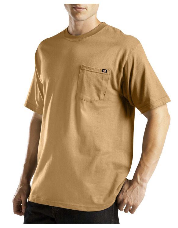 Short Sleeve Pocket Tee with Wicking - BROWN DUCK (BD)
