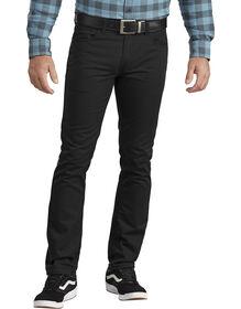 Dickies X-Series Flex Slim Fit Tapered Leg 5-Pocket Pant - STONEWASHED BLACK (SBK)
