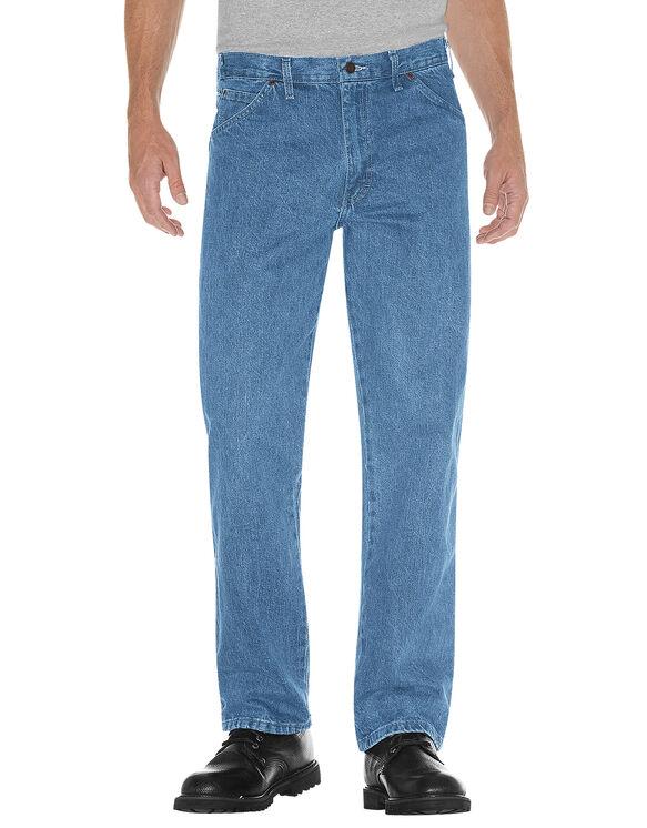 Regular Straight Fit 5-Pocket Denim Jean