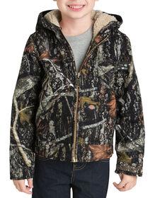 Boys' Sherpa Lined Duck Jacket, 4-7