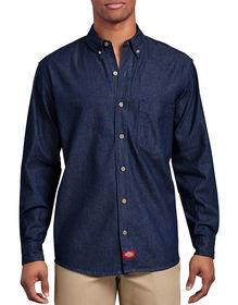 Long Sleeve Button-Down Denim Shirt