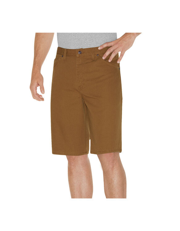 "11"" Relaxed Fit Carpenter Short - RINSED BROWN DUCK (RBD)"