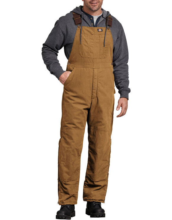 Sanded Duck Insulated Bib Overall