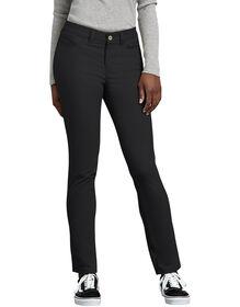 Women's Slim Fit Skinny Leg 5-Pocket Stretch Twill Pant