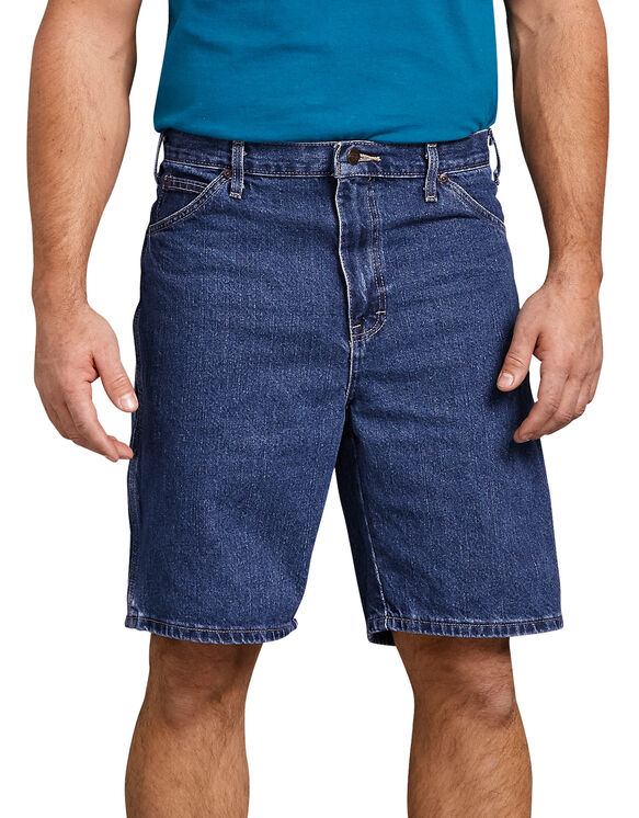 """9.5"""" Relaxed Fit Carpenter Short - STONEWASHED INDIGO BLUE (SNB)"""