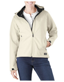 Women's Performance Softshell Jacket - ANTIQUE WHITE (AW)