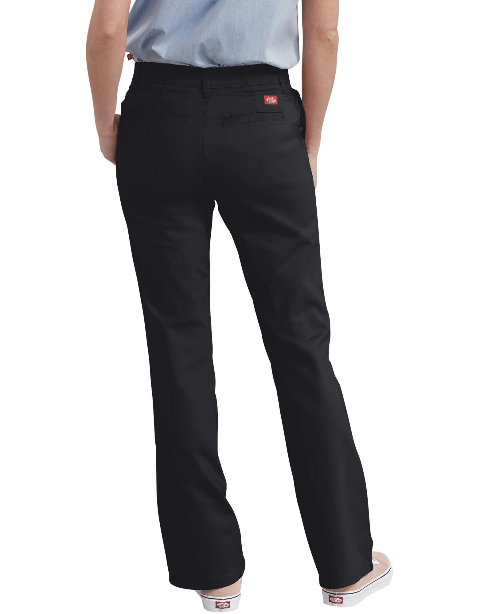 Women's Slim Fit Boot Cut Stretch Twill Pant