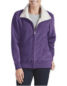 Women's Sherpa Bonded Fleece Jacket - PETUNIA (UN)