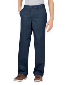 Boys' Flex Classic Fit Straight Leg Ultimate Khaki Pant, 8-20 - DARK NAVY (DN)