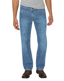 Dickies X-Series Relaxed Fit Straight Leg 5-Pocket Denim Jean - HERITAGE LIGHT INDIGO (HLI)